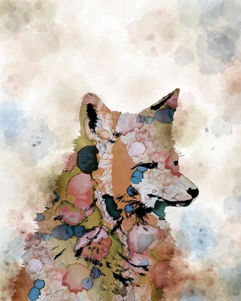 Fox Mixed Media - Fox 1 by Lucie Dumas