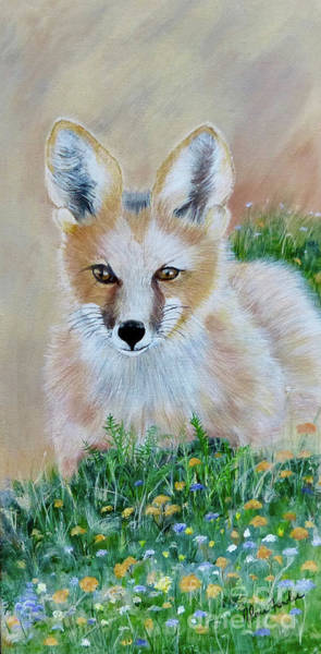 Painting - Fox by Alicia Fowler