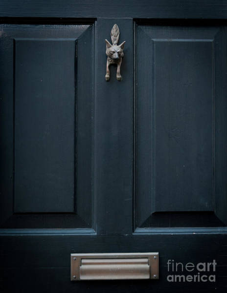 Photograph - Fox Door Knocker by Dale Powell