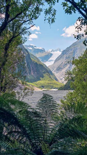 Wall Art - Photograph - Fox Glacier New Zealand by Joan Carroll