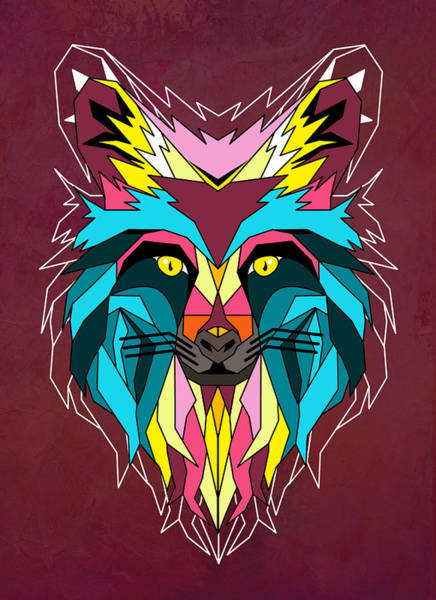Wall Art - Painting - fox by Mark Ashkenazi