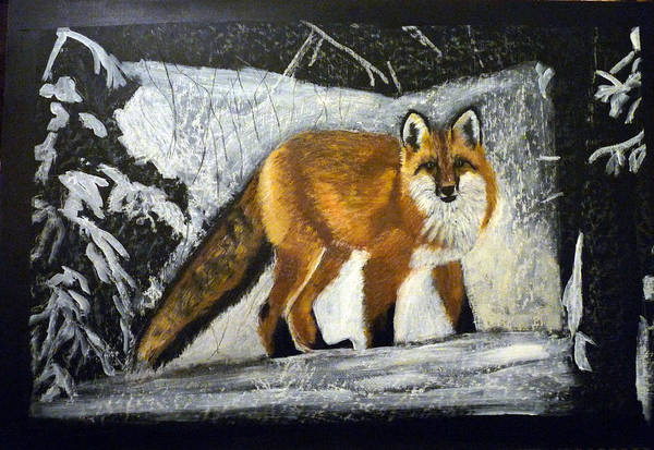Painting - Fox by Richard Le Page