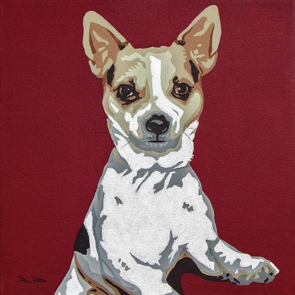 Fox Terrier Wall Art - Painting - Fox Terrier by Slade Roberts