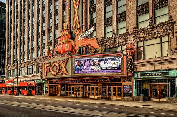 Digital Art - Fox Theater Dsc_0635 by Michael Thomas