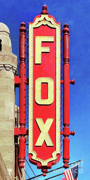 Photograph - Fox Theatre Atlanta Georgia 20180501 by Wingsdomain Art and Photography