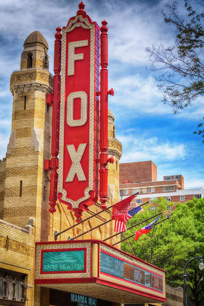 Wall Art - Photograph - Fox Theatre - Atlanta  by Stephen Stookey