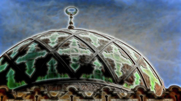 Wall Art - Photograph - Fox Theatre Dome #5 - Atlanta by Stephen Stookey