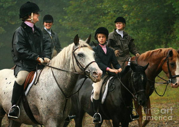 Photograph - Foxhunting by Angela Rath