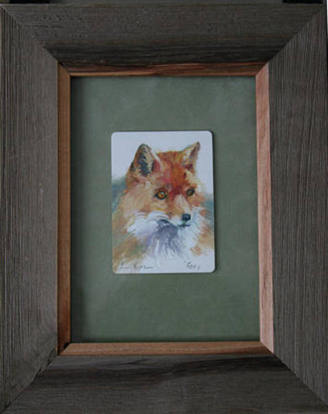 Painting - Foxy by Betty Jean Billups