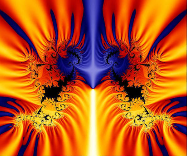 Digital Art - Fractal 145 by Charmaine Zoe