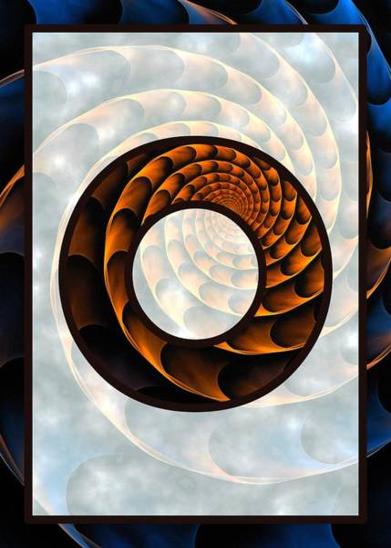 Digital Art - Fractal - Alphabet - O Is For Out Of Reach by Anastasiya Malakhova