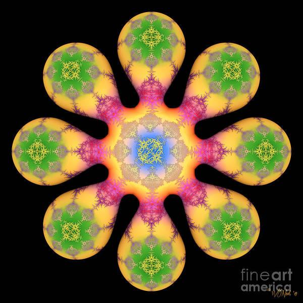 Digital Art - Fractal Blossom 3 by Walter Neal