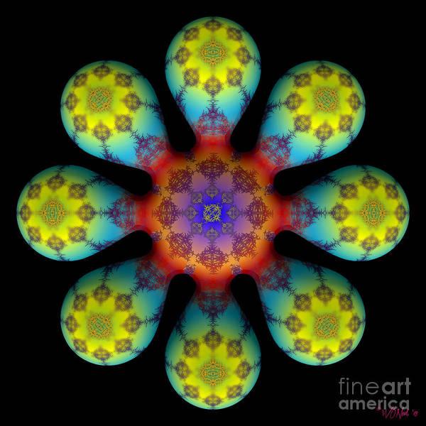 Digital Art - Fractal Blossom 4 by Walter Neal