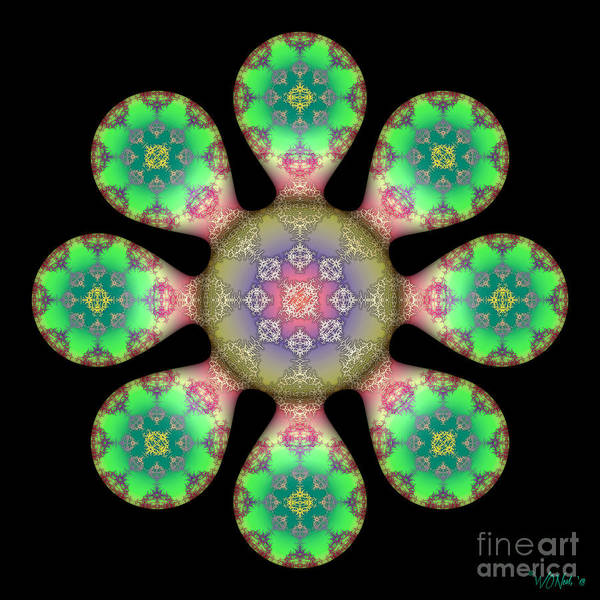 Digital Art - Fractal Blossom 5 by Walter Neal