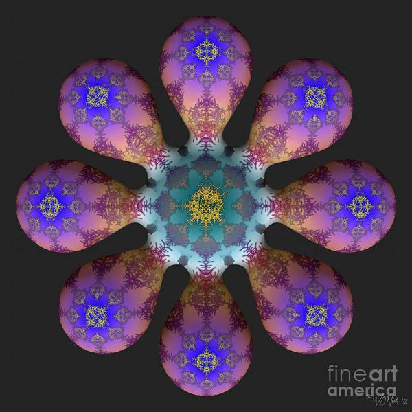 Digital Art - Fractal Blossum 4 by Walter Neal