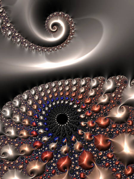 Digital Art - Fractal Contact by Matthias Hauser