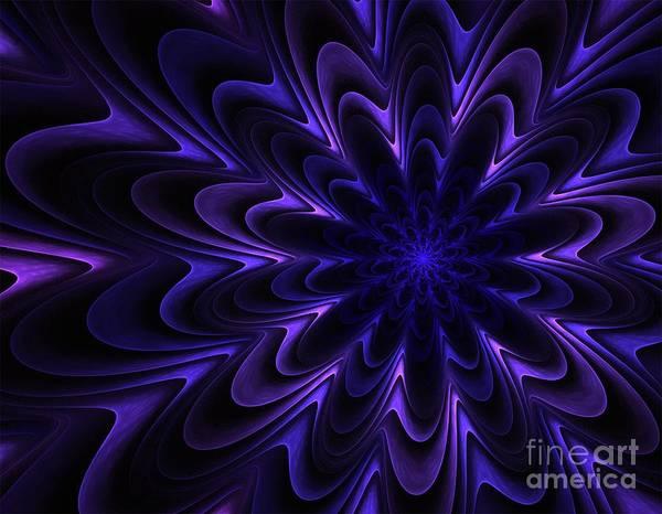 Satanism Digital Art - Fractal Mandala by Frederick Holiday