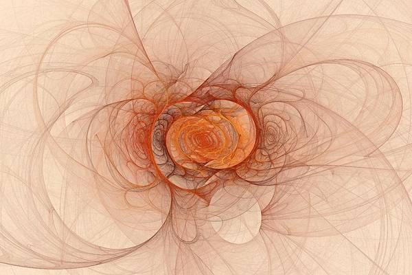 Digital Art - Fractal Music by Doug Morgan