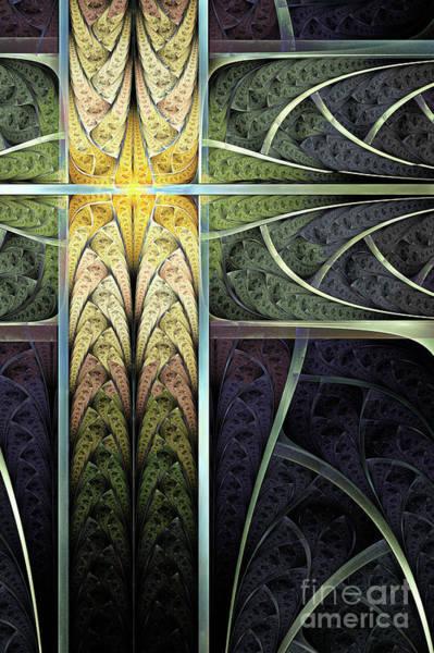Web Digital Art - Fractured by John Edwards