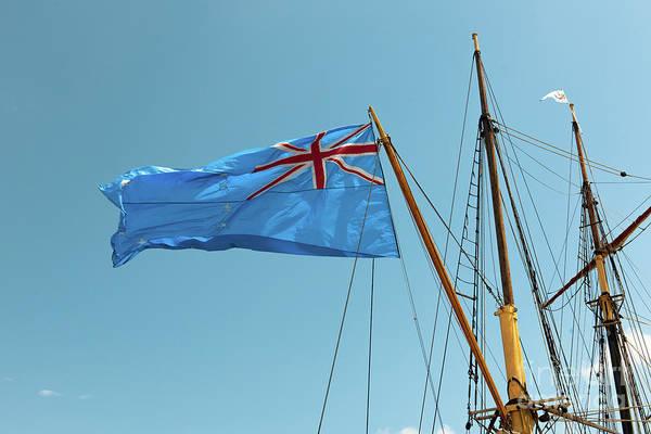 Photograph - Fragata Ara Libertad Flag by Dale Powell