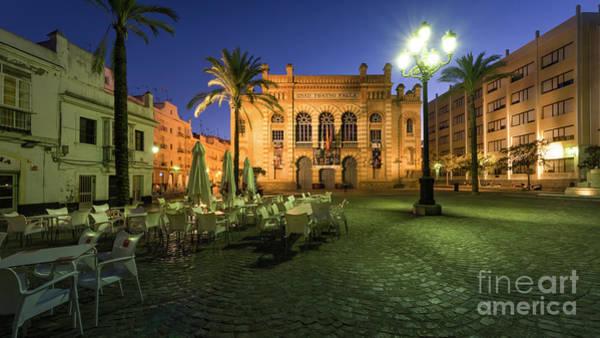Photograph - Fragela Square Gran Teatro Falla Cadiz Spain by Pablo Avanzini