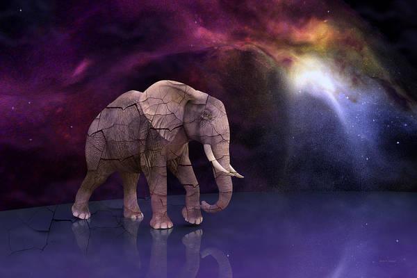 Night Time Digital Art - Fragile by Betsy Knapp