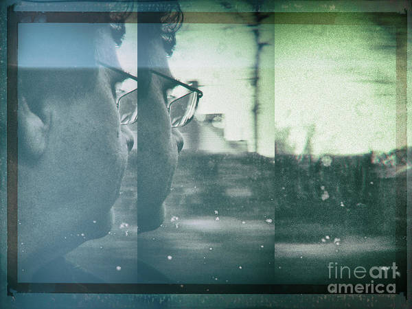 Photograph - Fragment 5 Self Portrait by Jeff Breiman