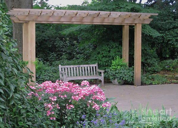 Photograph - Fragrance Garden by Kathie Chicoine