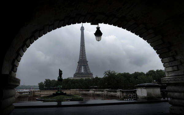 Photograph - Frame Of Eiffel Tower by Alexandre Rotenberg