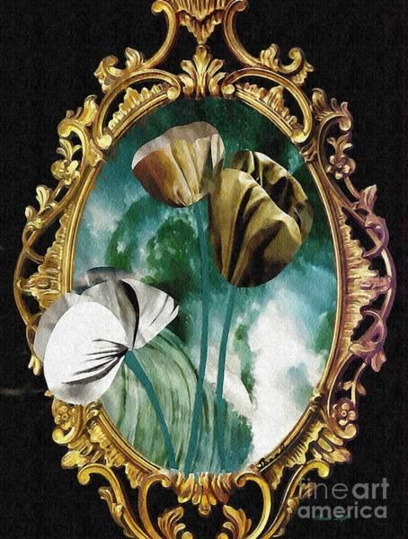 Sarah Loft - Framed Flowers