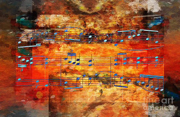 Digital Art - Framed Heterophony by Lon Chaffin