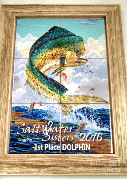 Wall Art - Digital Art - Framed Tile Trophies by Carey Chen
