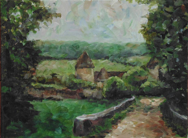 Painting - France, 1993 by Susan Moore