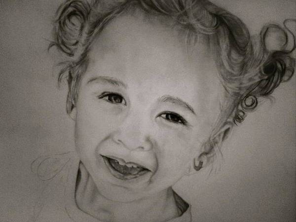 Wall Art - Drawing - Francesca by Cristina Sofineti