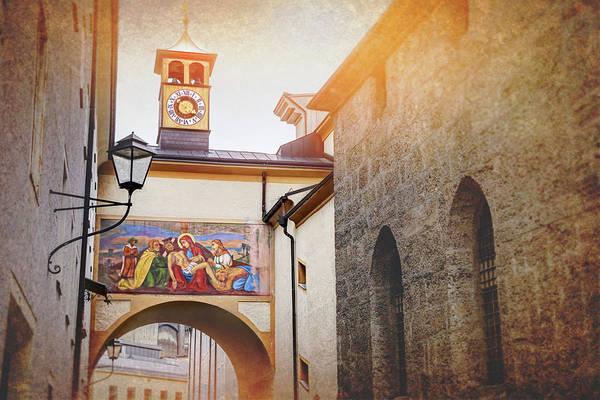 Holy City Photograph - Franciscan Church Pieta Salzburg Austria  by Carol Japp