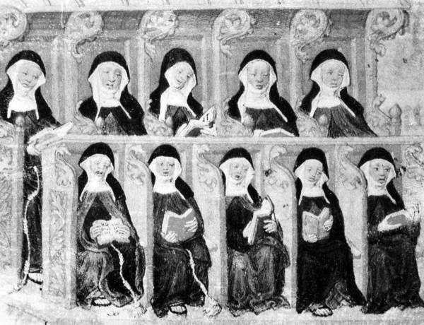 Photograph - Franciscan Nuns by Granger