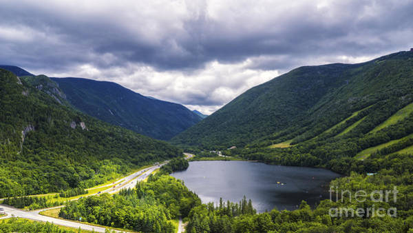 Photograph - Franconia Notch And Eagle Lake by New England Photography