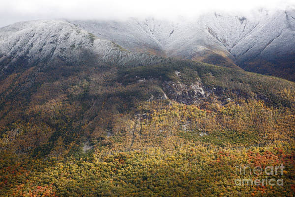 Photograph - Franconia Notch State Park - White Mountains Nh by Erin Paul Donovan