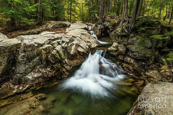 Franconia Notch State Park Photograph - Franconia Notch Waterfall by John Greim