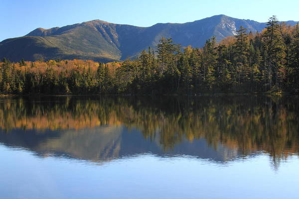 Franconia Notch State Park Photograph - Franconia Ridge From Lonesome Lake by Roupen Baker