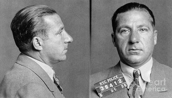 Photograph - Frank Costello (1891-1973) by Granger