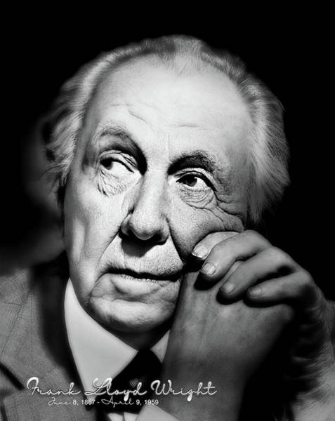 Photograph - Frank Lloyd Wright  by Carlos Diaz