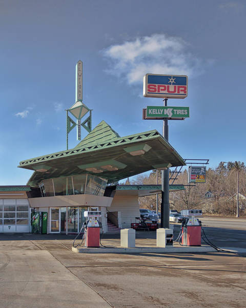 Photograph - Frank Lloyd Wright Gas Station by Susan Rissi Tregoning