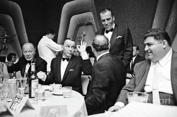 Photograph - Frank Sinatra And Buddy Ed Sullivan  by Doc Braham