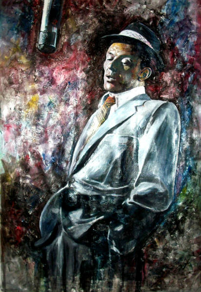 Voices Painting - Frank Sinatra - Capitol by Marcelo Neira