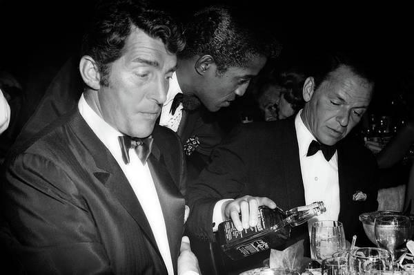 Frank Sinatra Drank American Whiskey His Way Art Print