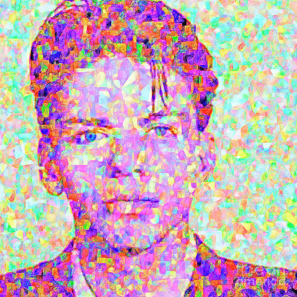 Photograph - Frank Sinatra In Abstract Cubism 20170404 by Wingsdomain Art and Photography