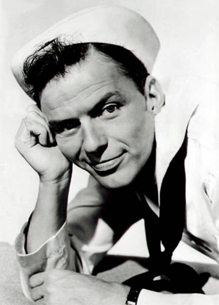 Photograph - Frank Sinatra In Anchors Aweigh by Doc Braham