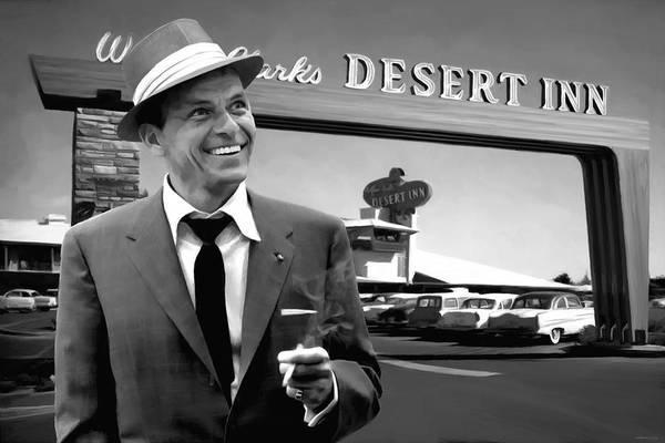 Digital Art - Frank Sinatra In Las Vegas by Gabriel T Toro