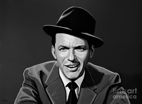 Ives Mixed Media - Frank Sinatra by Meijering Manupix